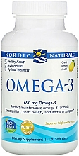 Kup Suplement diety o smaku cytrynowym Omega 3 - Nordic Naturals Omega-3 Lemon