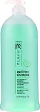 Kup PRZECENA! Oczyszczający szampon normalizujący do włosów tłustych - Black Professional Line Sebum-Balancing Shampoo *