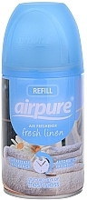 Kup Odświeżacz powietrza w sprayu Len - Airpure Air-O-Matic Refill Fresh Linen