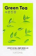 Kup Maska na tkaninie do twarzy z ekstraktem z zielonej herbaty - Missha Airy Fit Green Tea Sheet Mask