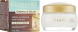 Kup Odżywczy krem do twarzy z olejem arganowym - Clinians Argan Crema & Olio Cream