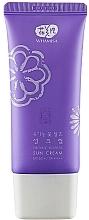 Kup Krem przeciwsłoneczny do twarzy - Whamisa Organic Flowers Sun Cream SPF 50