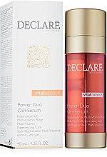 Kup Nawilżająco-lipidowy koktajl do twarzy - Declare Vital Balance Power Duo Oil+Serum