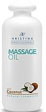 Kup Kokosowy olejek do masażu - Hristina Professional Coconut Massage Oil