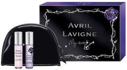 Kup Avril Lavigne My Secret Gift Set - Zestaw (edp 10 ml + edp 10 ml + bag)