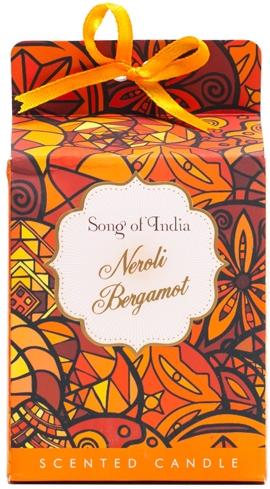 Świeca zapachowa w słoiku Neroli i bergamotka - Song of India Scented Candle — фото N1