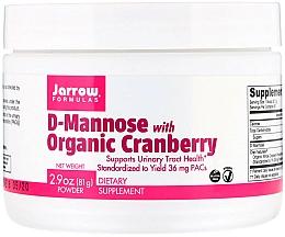 Kup Suplementy odżywcze - Jarrow Formulas D-Mannose with Organic Cranberry