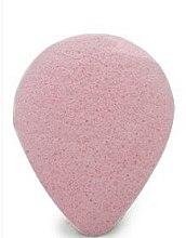 Kup Gąbka konjac do mycia twarzy z różową glinką, kropla - Bebevisa Konjac Sponge
