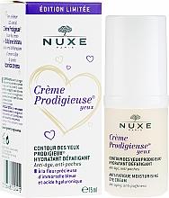 Przeciwzmarszczkowy krem nawilżający pod oczy - Nuxe Creme Prodigieuse Contour Des Yeux Anti-Fatigue Moisturizing Eye Cream Edition Limitee — фото N1