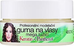 Kup Keratynowa guma do włosów z pantenolem - Bione Cosmetics Keratin + Panthenol Professional Ultra Strong Sculpting Rubber