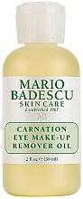 Kup Nawilżający olejek do demakijażu oczu - Mario Badescu Carnation Eye Make-Up Remover Oil