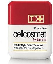 Kup Ochronny krem komórkowy do twarzy na noc - Cellcosmet Preventive Night Cream