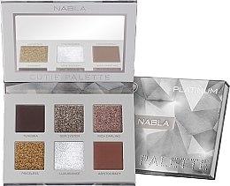 Kup Paletka cieni do powiek - Nabla Cutie Collection Palette Platinum