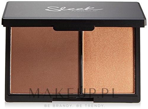Paletka do konturowania twarzy - Sleek MakeUP Face Contour Kit — фото Dark