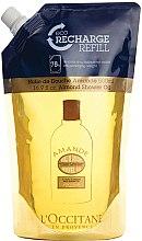 Kup Nawilżający olejek do mycia ciała (uzupełnienie) - L'Occitane Almond Shower Oil