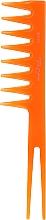 Kup Grzebień do włosów 60182, pomarańczowy - Top Choice