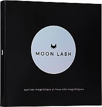 Kup Zestaw - Moon Lash Kit Magnetic 005 New Moon (eyelashes/1pcs + clip + eye/liner/5ml)