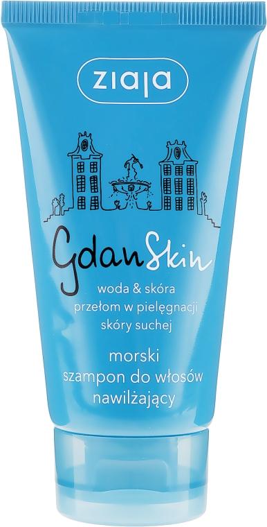 Nawilżający morski szampon do włosów - Ziaja GdanSkin