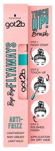 Bezbarwny tusz do włosów - Schwarzkopf Got2b Bye Bye Flayaways Touch Up Brush