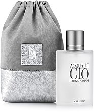 Kup Uniwersalne szare etui na perfumy Perfume Dress - Makeup