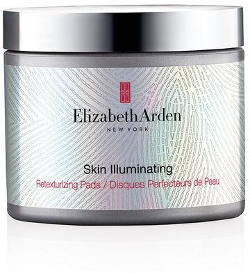 Rozświetlające płatki do twarzy - Elizabeth Arden Skin Illuminating Retexturizing Pads — фото N1