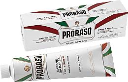 Kup Krem do golenia do skóry wrażliwej - Proraso White Shaving Cream