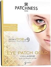 Kup Przeciwstarzeniowe płatki pod oczy z kolagenem - Patchness Eye Patch Gold