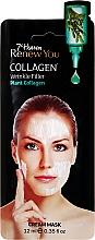 Kup Przeciwzmarszczkowa maska do twarzy Kolagen roślinny - 7th Heaven Renew You Collagen Cream Mask