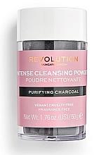 Kup Oczyszczający puder do twarzy z węglem drzewnym - Revolution Skincare Purifying Charcoal Cleansing Powder