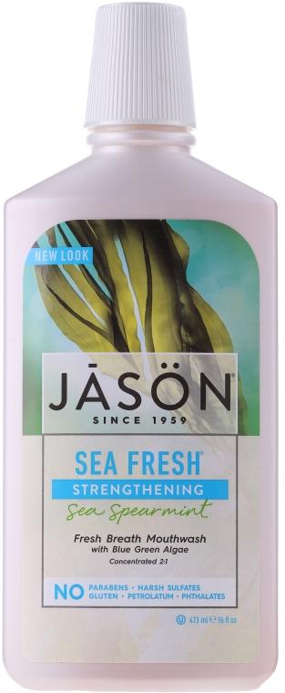 Wzmacniający płyn do płukania jamy ustnej - Jason Natural Cosmetics Sea Fresh Strengthening