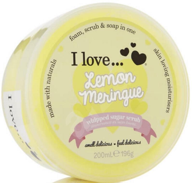 Scrub cukrowy do ciała - I Love... Lemon Meringue Whipped Sugar Scrub — фото N1