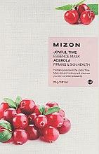 Kup Ujędrniająca maska na tkaninie do twarzy Acerola - Mizon Joyful Time Essence Mask Acerola