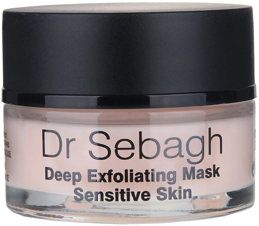 PRZECENA! Maska głęboko złuszczająca do skóry wrażliwej - Dr Sebagh Deep Exfoliating Mask * — фото N2