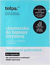 Kup Chusteczki do higieny intymnej Łagodzenie podrażnień 1 szt - Tołpa Intima