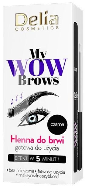 Henna do brwi - Delia My Wow Brows