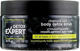 Kup Węglowy oczyszczający peeling solny do ciała - Detox Expert Charcoal Salt Body Detox Scrub