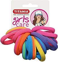 Kup Gumki do włosów, 16 szt., kolorowe - Titania Girls Care