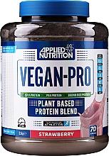 Kup Mieszanka białek z aminokwasami dla sportowców Wanilia - Applied Nutrition Vegan-pro Plant Based Protein Blend Strawberry