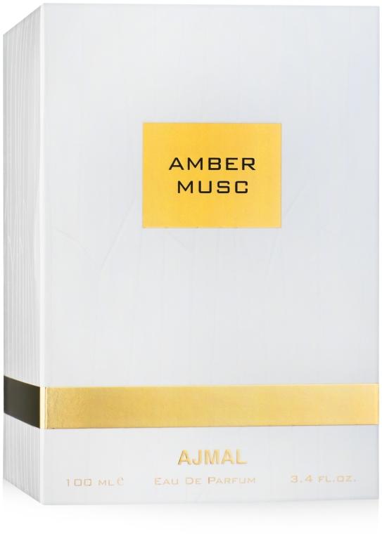 Ajmal Amber Musc - Woda perfumowana — фото N2