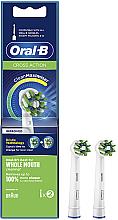 Kup Wymienne nakładki do szczoteczki elektrycznej, 2 szt. - Oral-B Cross Action Power Toothbrush Refill Heads
