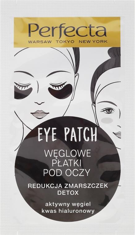 Węglowe płatki pod oczy redukujące zmarszczki - Dax Cosmetics Perfecta Eye Patch