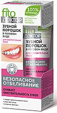 Kup Wybielający proszek dentystyczny w formie pasty do wrażliwych zębów - FitoKosmetik