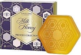Kup Mydło w kostce Mleko i miód Złota seria, świąteczne wydanie - Oriflame Milk Honey Gold Soap Bar