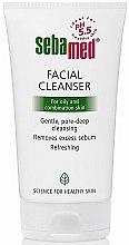 Kup Żel myjący do skóry tłustej i mieszanej - Sebamed Facial Cleanser For Oily And Combination Skin