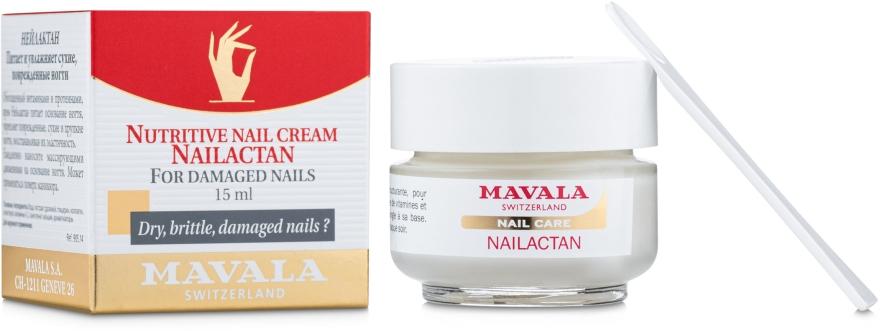 Krem dla zniszczonych paznokci - Mavala Nailactan — фото N1