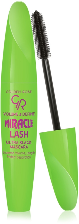 Tusz do rzęs - Golden Rose Volume & Define Miracle Lash Mascara