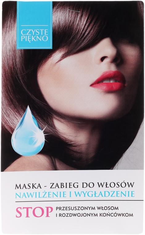 Maska-zabieg do włosów Nawilżenie i wygładzenie - Czyste Piękno