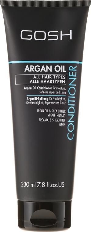 Odżywka do wszystkich rodzajów włosów Olej arganowy - Gosh Argan Oil Conditioner — фото N1