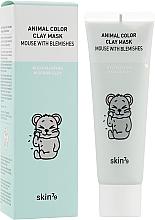 Kup Oczyszczająca maska glinkowa do twarzy - Skin79 Animal Color Clay Mask Mouse With Blemishes