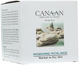 Kup PRZECENA! Odżywcza maska do skóry normalnej i suchej - Canaan Minerals & Herbs Nourishing Facial Mask Normal to Dry Skin *